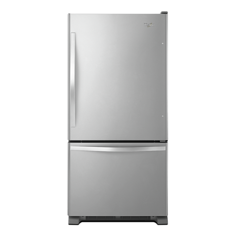 Whirlpool® 22 cu. ft. Bottom-Freezer Refrigerator with Freezer Drawer WRB322DMBM