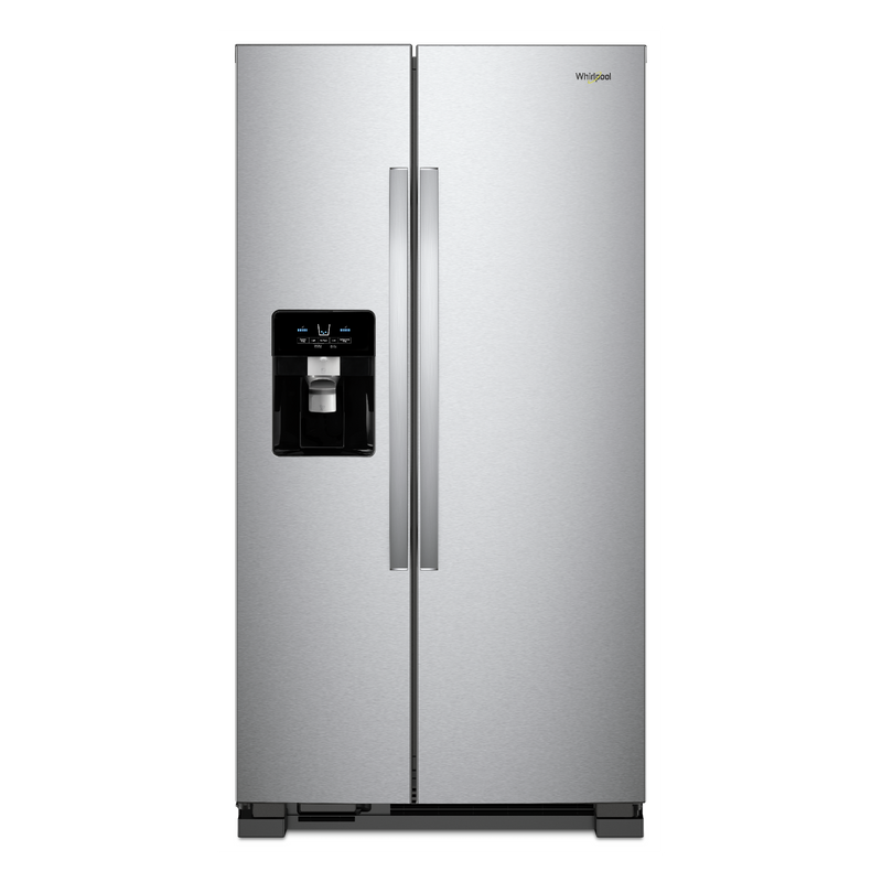 33-inch Wide Side-by-Side Refrigerator - 21 cu. ft. WRS321SDHB