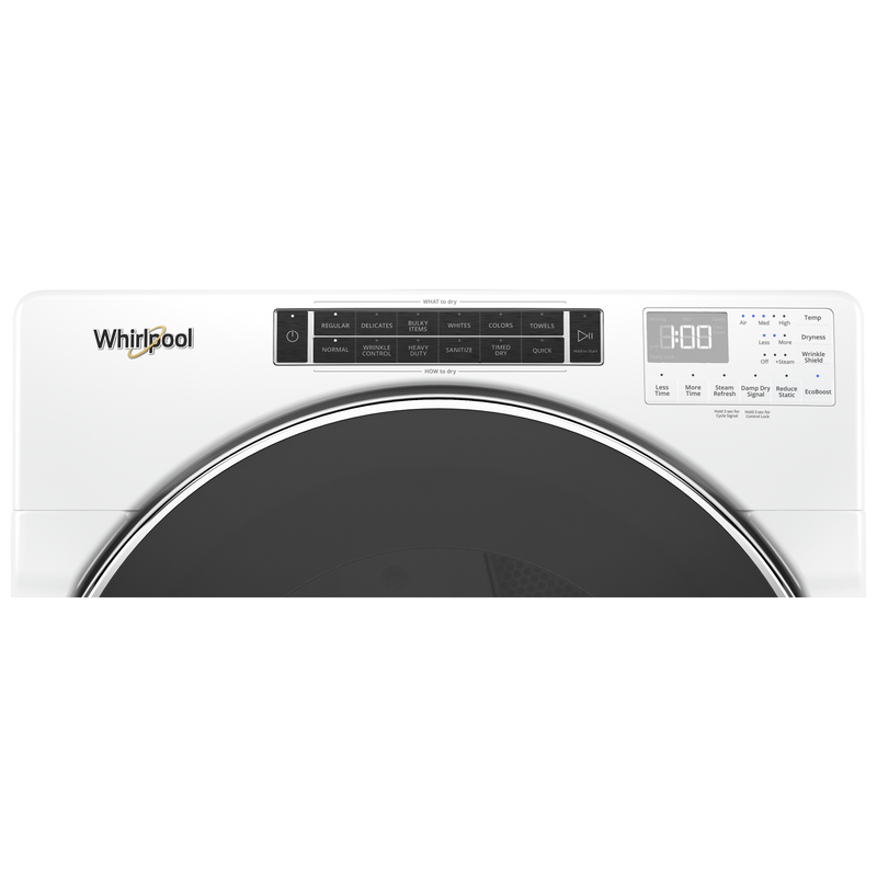 7.4 cu. ft. Smart Front Load Gas Dryer WGD9620HW