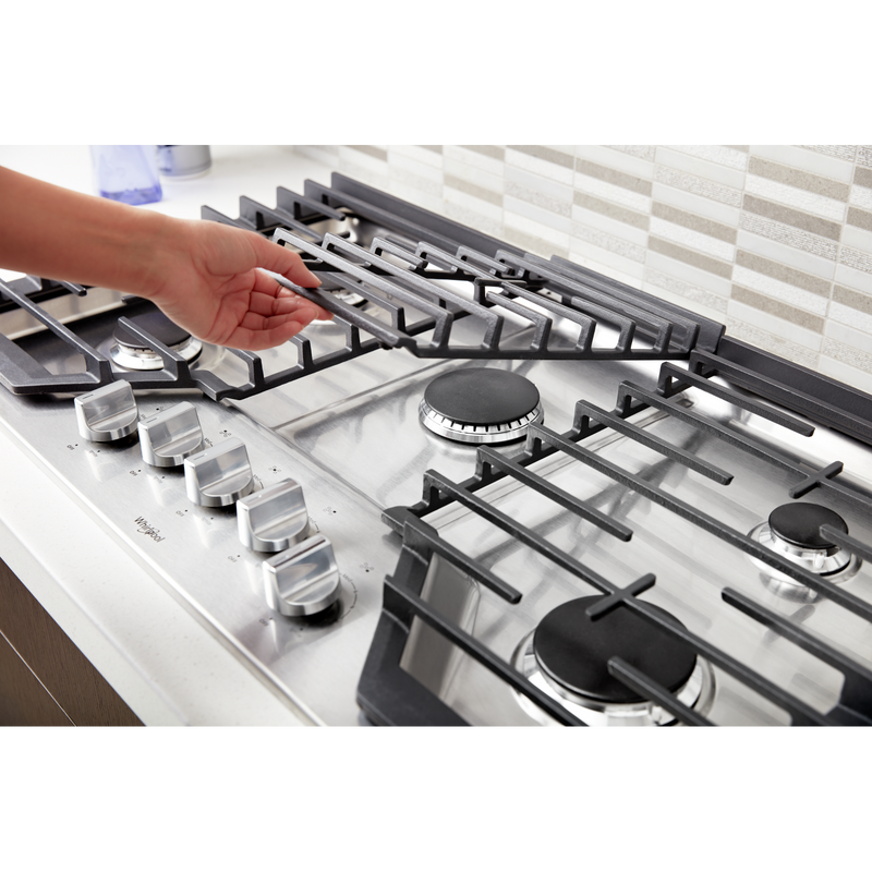 36-inch Gas Cooktop with Griddle WCG97US6HS