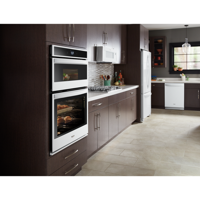 6.4 cu. ft. Smart Combination Wall Oven with Touchscreen WOC54EC0HW