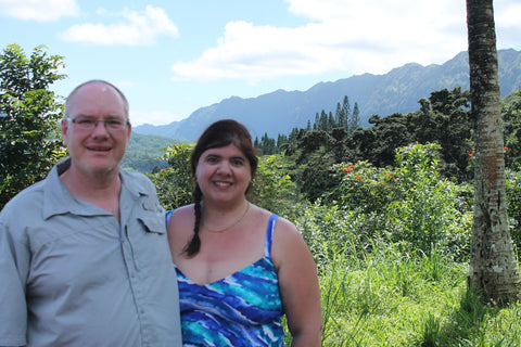 James and I in Hawaii