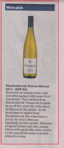 Neil Hodgson's wine recommendation in the Nelson Mail