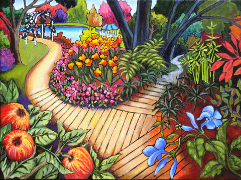 """Pathway to Heaven"" by Marilyn Andrews, Nelson , New Zealand"