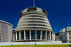 New Zealand Parliament in Wellington