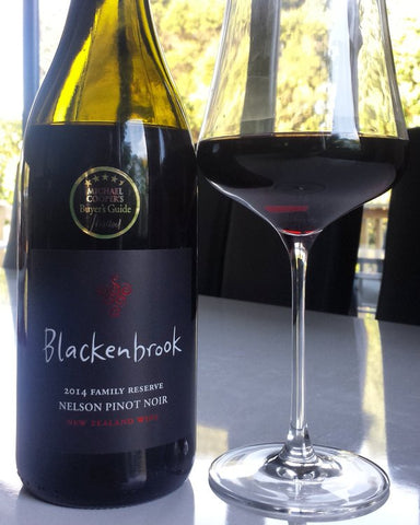 Award-winning Nelson Pinot Noir from Blackenbrook Vineyard