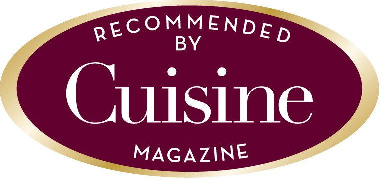 Recommended by Cuisine Magazin