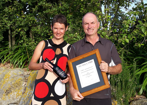 Daniel and Ursula Schwarzenbach of Nelson's Blackenbrook Vineyard