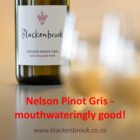 Award-winning Blackenbrook Pinot Gris 2019 from Nelson, New Zealand