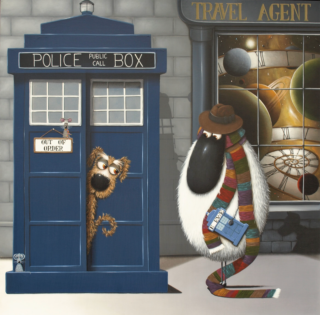Simon Clarke Canvas - Doctor Ewe
