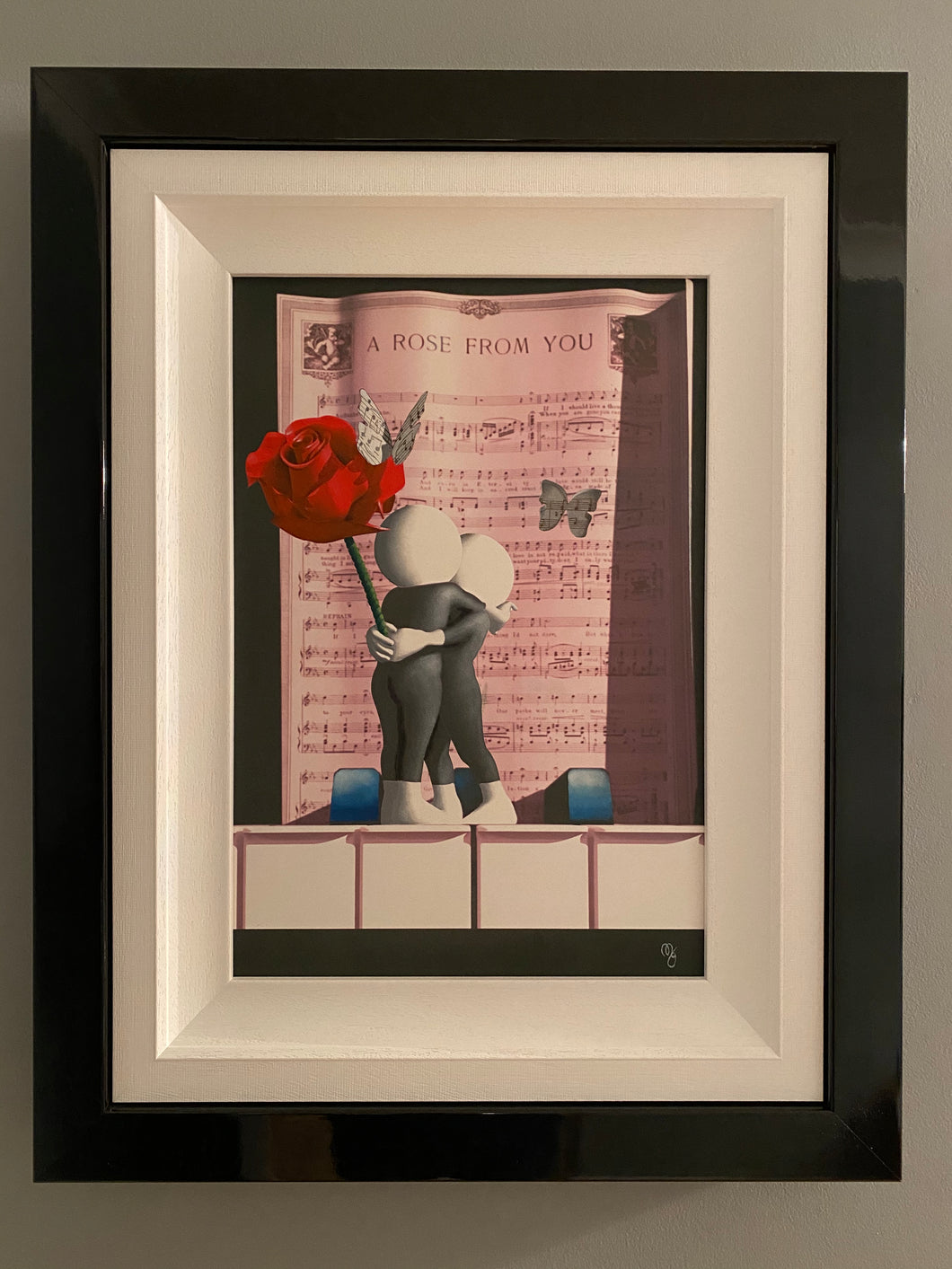 Mark Grieves - Original - A Rose from You Butterfly