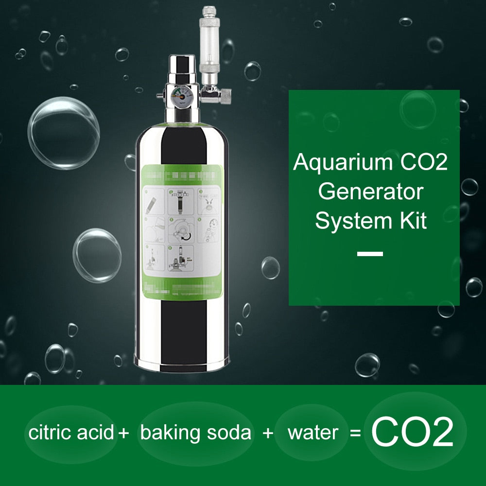 Aquarium DIY CO2 Generator System Kit Aquarium CO2