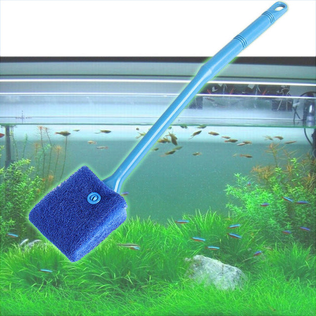 Practical Aquarium Plant Algae Cleaner Glass Fish