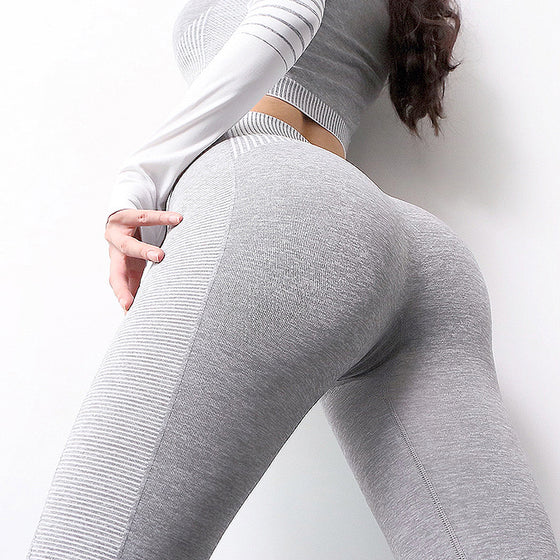 grey 2 piece set gymwear