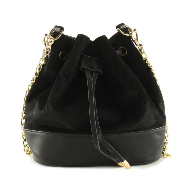 Cara Fur Bucketbag