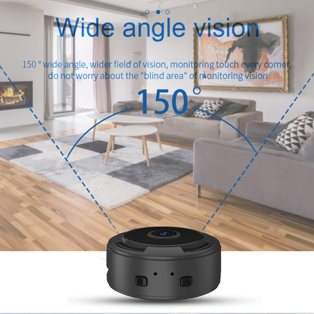 Home Security Camera - A9S (New Version) 1080P Night Vision,
