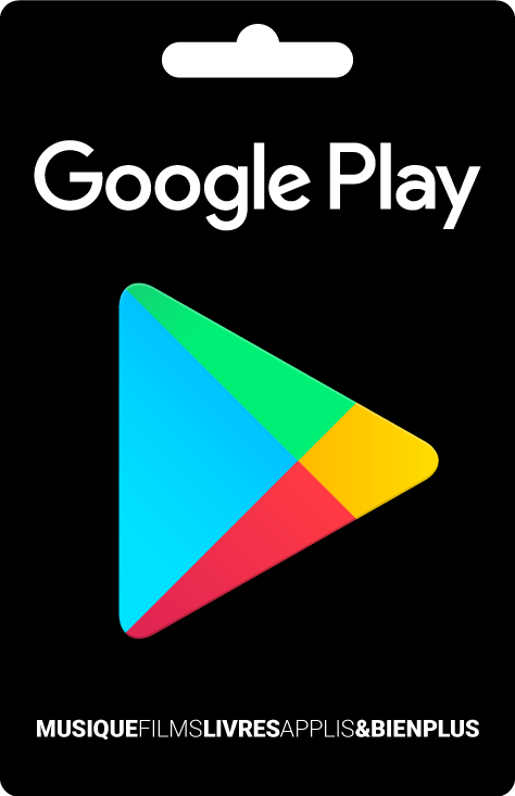 E-carte Google Play de 15 €