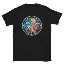 "Load image into Gallery viewer, DOGE ""To The Moon"" Logo Tee"