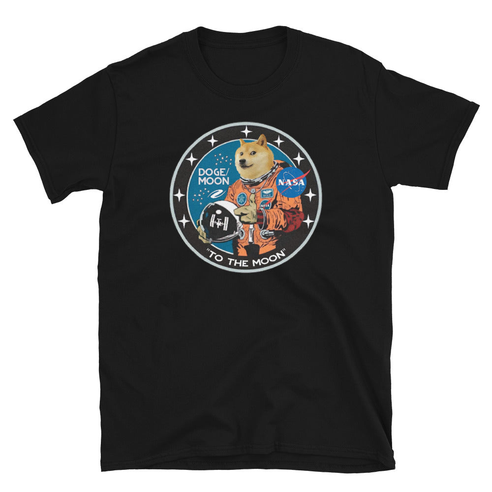 "DOGE ""To The Moon"" Logo Tee"