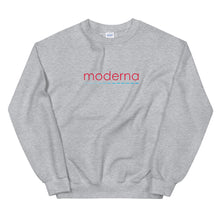 Load image into Gallery viewer, Moderna Logo Crewneck