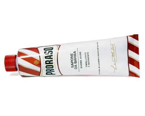 Proraso Nourish Shaving Cream Tube, Sandalwood