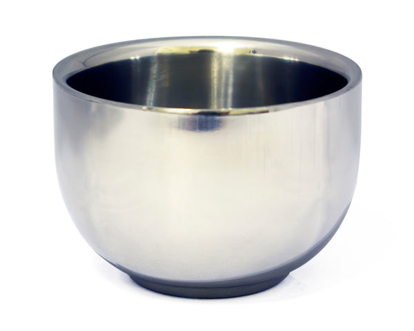 Groomistry Stainless Steel Shaving Bowl