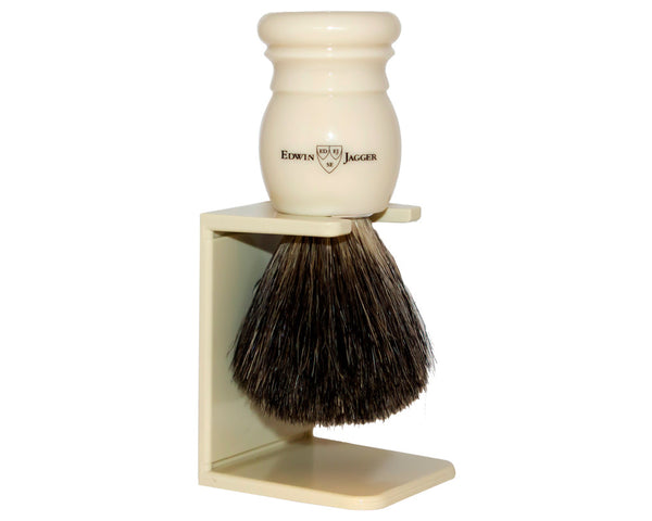 Edwin Jagger 181P27SDS Black Badger Hair Shave Brush