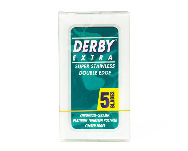 Derby Extra Super Stainless Double Edge, 5 Blades
