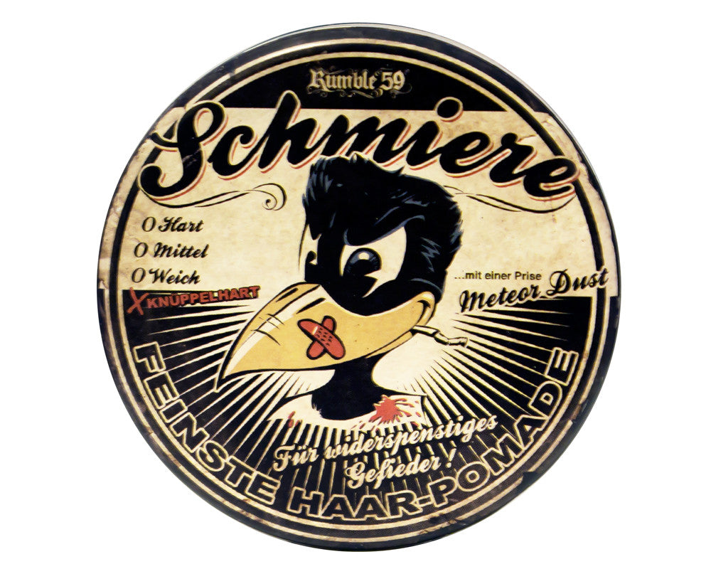 Rumble 59 Schmiere Rock Hard Pomade, Meteor Dust