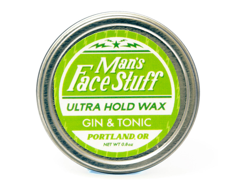 Man's Face Stuff Ultra Hold Wax, Gin & Tonic