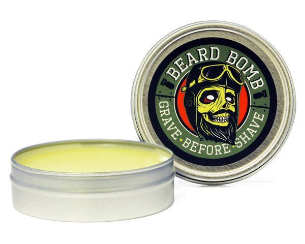 Grave Before Shave Beard Bomb