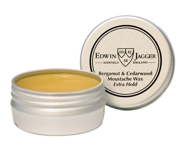 Edwin Jagger Bergamot and Cedarwood Moustache Wax Extra Hold