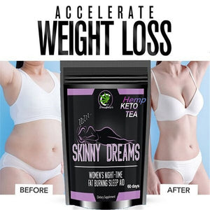 Newest 100% KETO Tea Moistening Intestine And Detoxifying In The Morning Reducing Fat And Losing Weight Relaxing In The Evening