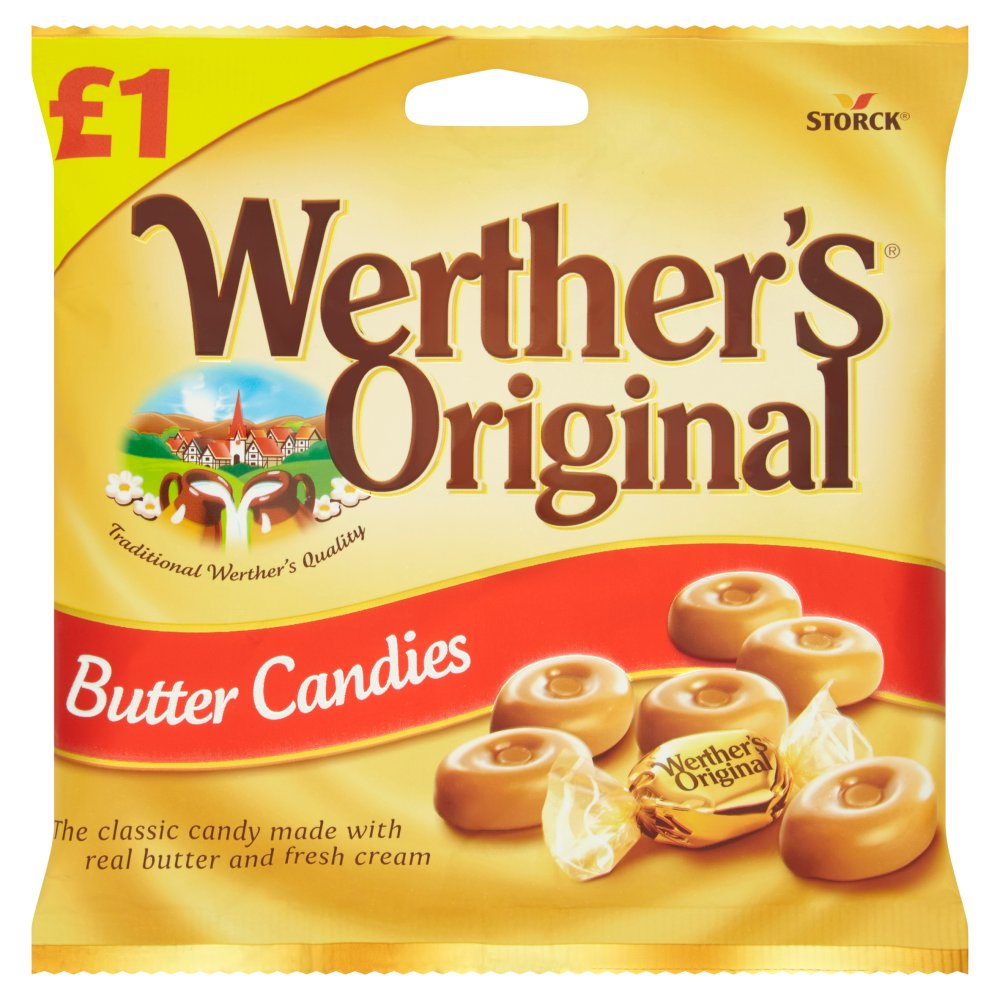 Werther's Original Butter Candies - 110g