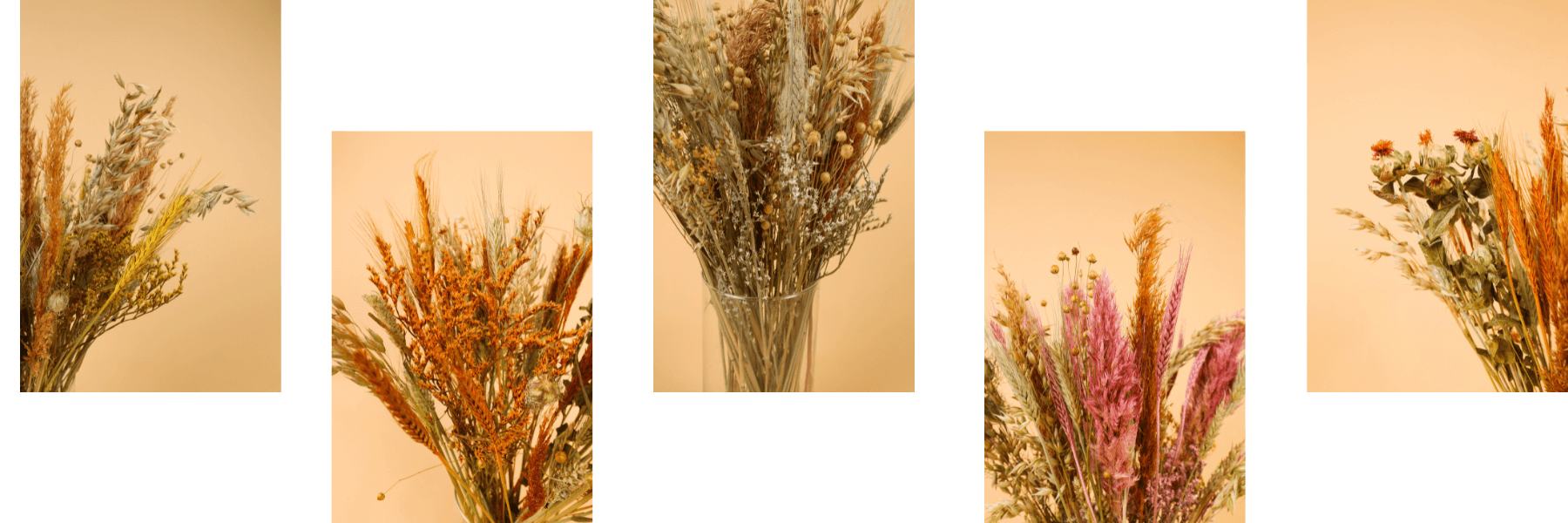 DIY Dried bouquets by Tifiori picture of dried flowers