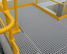 Load image into Gallery viewer, Anti Slip Fiberglass (FRP) Grating