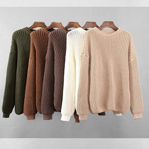 Womens Sweater - Wave Side