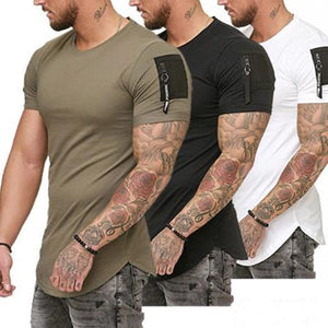 Men`s tight fit shirt - Wave Side