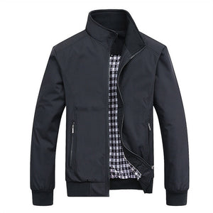Men`s Zipped Jacket - Wave Side
