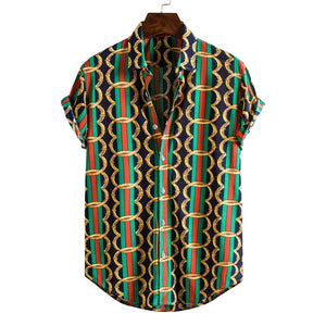 Men`s party shirt - Wave Side
