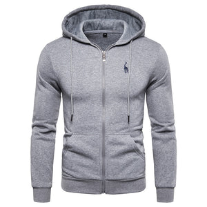Men`s Hooded Sweatshirt - Wave Side