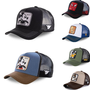 Anime Cartoon snapback hats - Wave Side