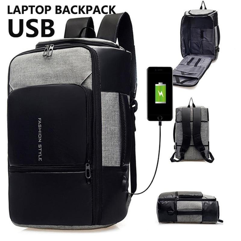3 in1 Anti-theft Waterproof Backpack / Suitcase - 1StopShop