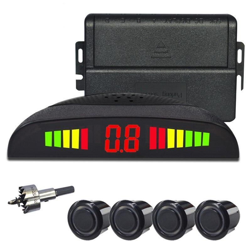 Car LED Parking Sensor Kit 4 Sensors