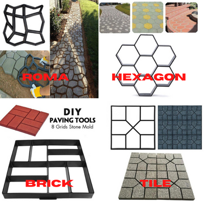 Floor Path Mold Pattern (4 Design Options)