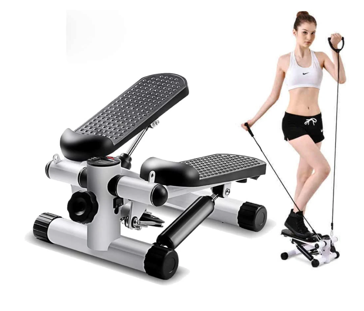 AIR STAIR CLIMBER EXERCISE MACHINE (W/ DIGITAL DISPLAY)