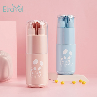 ETRAVEL COMPACT MULTI FUNCTIONAL HYGIENE KIT/ COMPACT CONTAINER