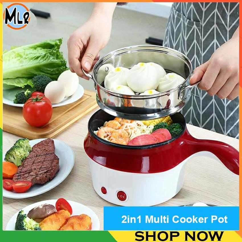 2 in 1  Multi Cooker with Steamer