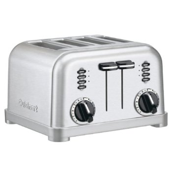 Cuisinart 4-Slice Brushed Stainless Steel Toaster