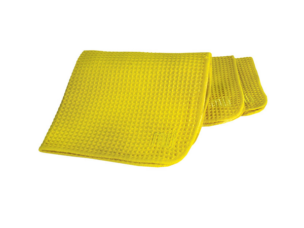 Mu Kitchen Waffle Dishcloth Set-3 Yellow